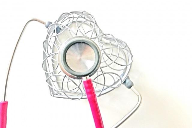 ハートと聴診器