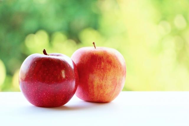 2つのりんご