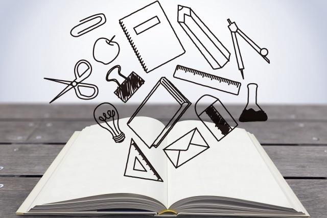 ノートから筆記用具
