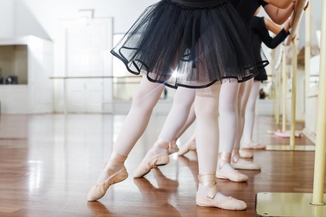 バレエのお稽古