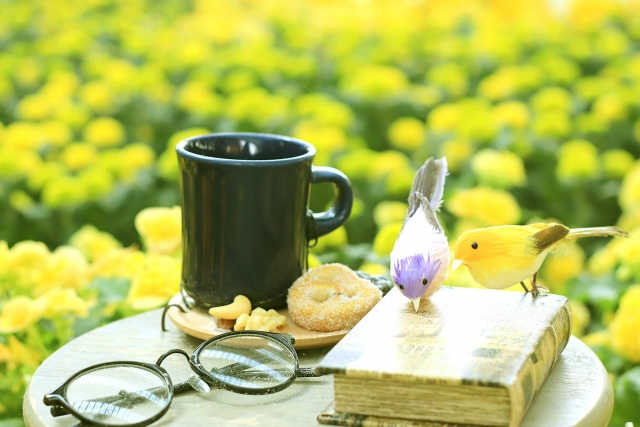 黄色いお花と本