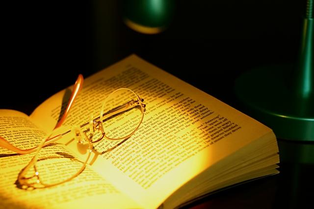 眼鏡と洋書
