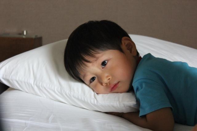 起きちゃう子供