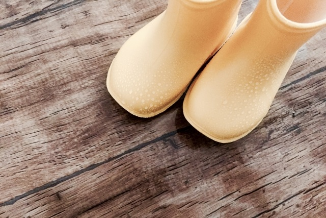 黄色い長靴