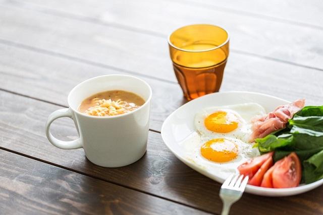 おしゃれな朝食