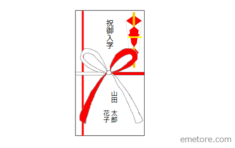 のし袋の表書き方法