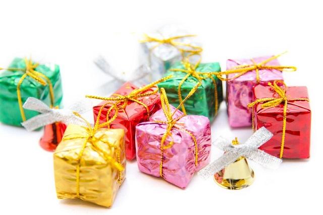 小さなプレゼントボックス