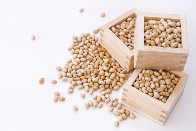 たくさんの豆
